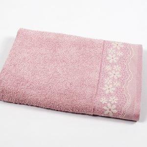 купить Полотенце махровое Binnur - Vip Cotton 11 розовый (sv-svt-2000022205238-v)