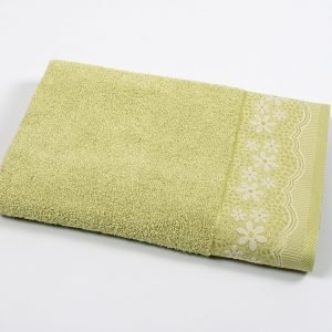 Полотенце махровое Binnur – Vip Cotton 11 green 70×140