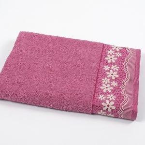 купить Полотенце махровое Binnur - Vip Cotton 11 pink (sv-svt-2000022205245-v)