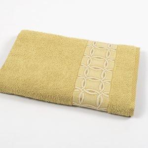 Полотенце махровое Binnur – Vip Cotton 12 желтый