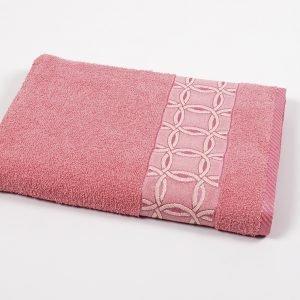 купить Полотенце махровое Binnur - Vip Cotton 12 розовый (sv-svt-2000022205375-v)