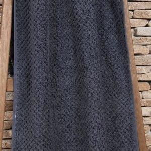 Полотенце махровое Buldans – Cakil Antracite т. 90×150