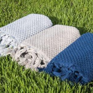 Полотенце махровое Buldans – Cakil Grey 50×90