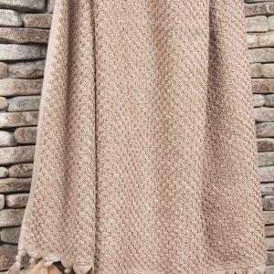 Полотенце махровое Buldans – Cakil beige 90×150