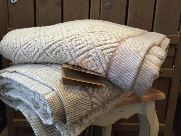 купить Полотенце махровое Buldans - Knidos brown (sv-7771-v)