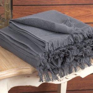 Полотенце махровое Buldans – Siena Antracite