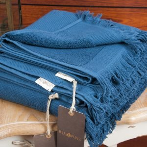 купить Полотенце махровое Buldans - Siena Midnight Blue (sv-2000022100649-v)