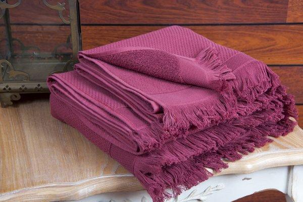 купить Полотенце махровое Buldans - Siena Sour Cherry (sv-2000022100632-v)