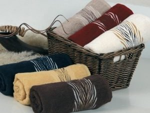 Полотенце махровое Cestepe — Зебрa cotton 70×140