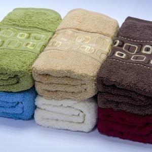 Полотенце махровое Cestepe — Kareoki cotton