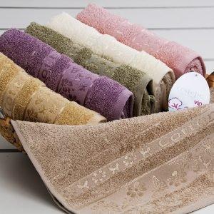 Полотенце махровое Cestepe — Kelebek Cotton 50×90