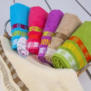 Полотенце махровое Cestepe — Tugra cotton 50×90