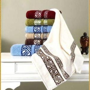 Полотенце махровое Cestepe — Vakko cotton crem 70×140