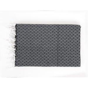 Полотенце пляжное Irya — Ilgin siyah 90×170