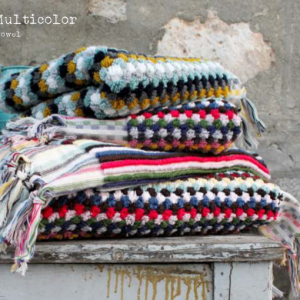 Полотенце Barine — Multicolor Blue Shade 50×100