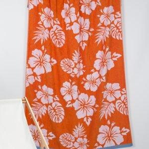 купить Полотенце Barine Pestemal - Aloha Oranj (svt-2000022213448)