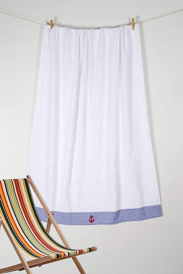 купить Полотенце Barine Pestemal - Anchor Stripy (svt-2000022213479)