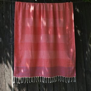 купить Полотенце Barine Pestemal - Dots and Lines Mandarin-Red (2000022179010)