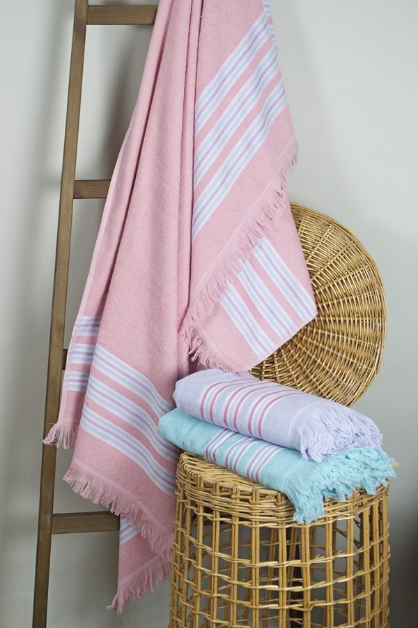 купить Полотенце Barine Pestemal - Escape Apricot pink (svt-2000022213486)