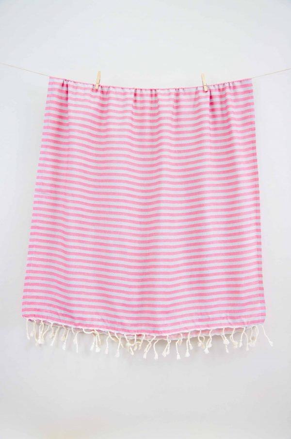 купить Полотенце Barine Pestemal - Herringbone Grey-pink (2000022171250)