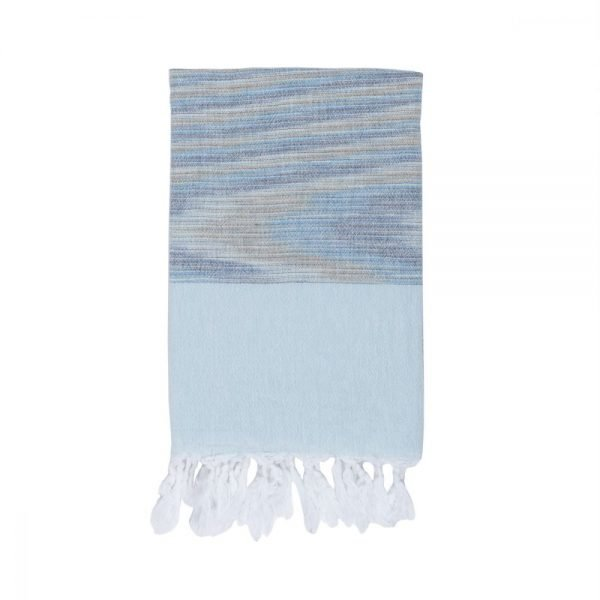 купить Полотенце Barine Pestemal - Marble Blue-Blue (svt-2000022215190)