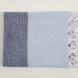 Полотенце Barine Pestemal – Marble Indigo-P.Blue 90×160