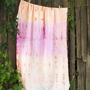 Полотенце Barine Pestemal — Rainbow Hippie 90×170