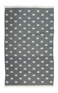 купить Полотенце Barine Pestemal - Stars Siyah (2000008473859)