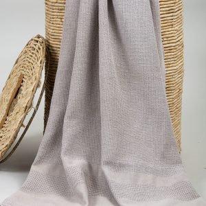 Полотенце Barine Pestemal — Stone Mink 85×160