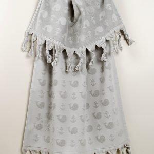 Полотенце Barine — Whale grey