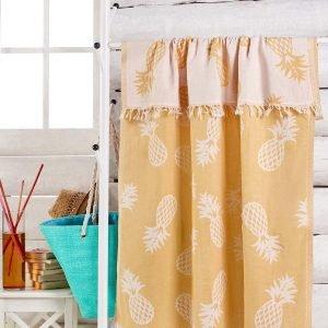 Полотенце Eponj Home Jakarli — Ananas koyu sari 100×180