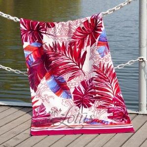 Полотенце Lotus пляжное – Paradise Fusya 75×150