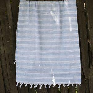 Полотенце Lotus Pestemal – Blue 07 Hard stripe 75×150