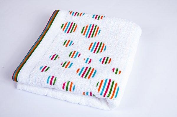 купить Полотенце Shamrock - Rainbow white (sv-4872-v)