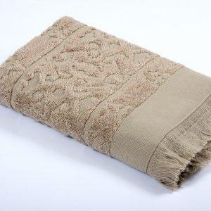 Полотенце TAC Royal Bamboo Jacquard – S. Kahve