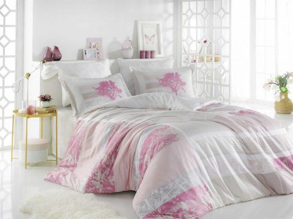 купить Постельное белье ТМ Hobby Exclusive Sateen Elsa pink (IZ-8698499130340)