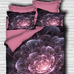 купить Постельное белье ТМ Lighthouse Ранфорс 3D Astra pink (IZ-2200000547774)