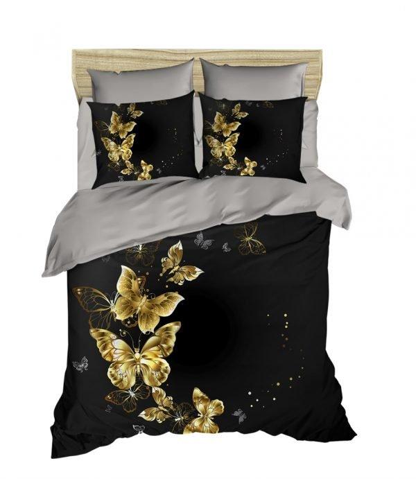 89974c971f43 Постельное белье ТМ Lighthouse Ранфорс 3D Golden Butterfly 200x220 ...