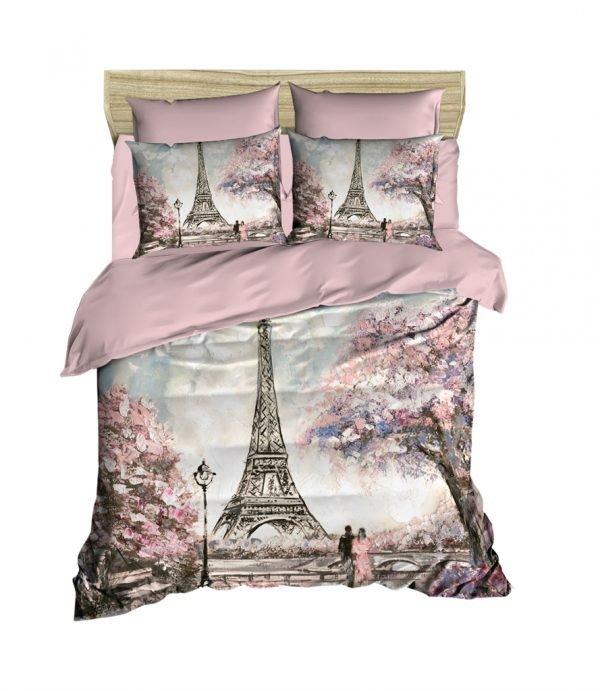 купить Постельное белье ТМ Lighthouse Ранфорс 3D Paris Spring (IZ-2200000547866)