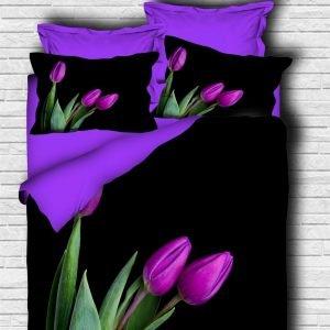 Постельное белье ТМ Lighthouse Ранфорс 3D Royal Tulip 200×220