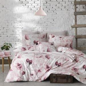 Постельное белье ТМ Lighthouse Ranforce Viola pink 200×220