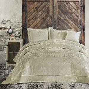 Постельное белье с покрывалом Cotton Box Carmela Altin 200×220