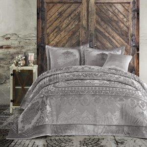 Постельное белье с покрывалом Cotton Box Carmela Vizon 200×220