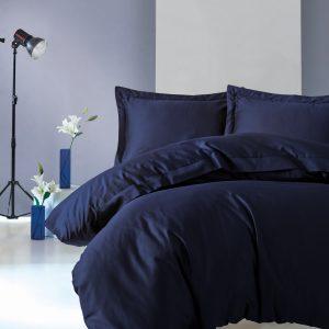 Постельное белье Cotton Box Lacivert 200×220