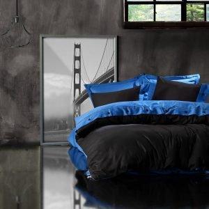 Постельное белье Cotton Box Mavi Siyah 200×220