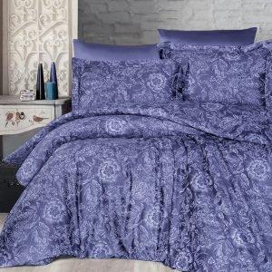 Постельное белье First Choice сатин Люкс advina indigo 200×220