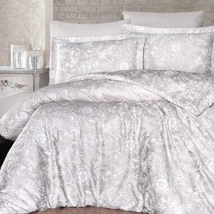 купить Постельное белье ТМ First Choice сатин люкс advina sampanya Двуспальное|Евро комплект
