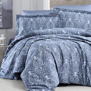 Постельное белье ТМ First Choice сатин люкс delmor indigo 200×220