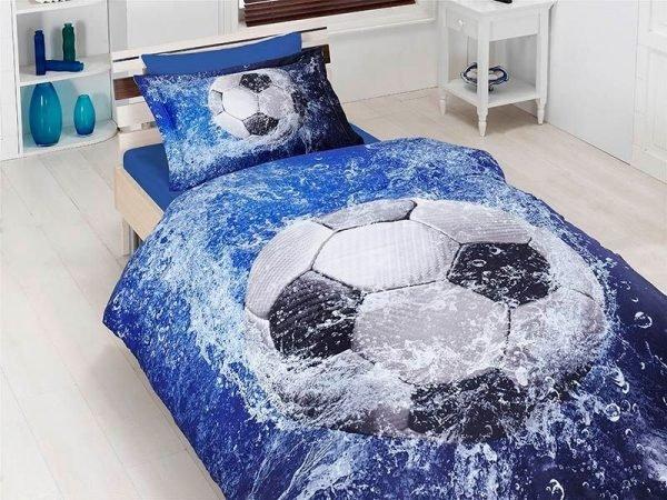 Постельное белье ТМ First Choice сатин 3d football 160×220
