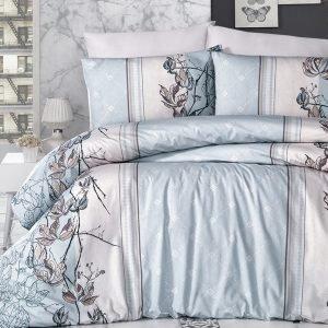 купить Постельное белье ТМ First Choice De Luxe arnica mint Двуспальное|Евро комплект